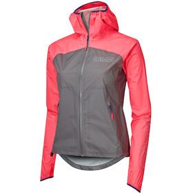 OMM Halo+ Jacket with Pockets Women, grigio/rosa